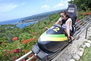 Bogsled on Mystic Mountain, Jamaica