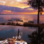 Romantic Mauritian sunsets