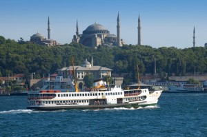 Take a ferry ride on the Bosphorus