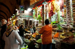 The Grand Bazaar with over 4000 shops to choose from