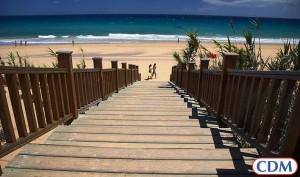 A beach on Porto Santo