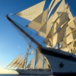 Tall Ship cruising with Star Clipper