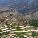 Bilad Sayt - a fine, traditional Omani village set in the mountains