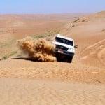 Dune bashing, Wahiba Sands