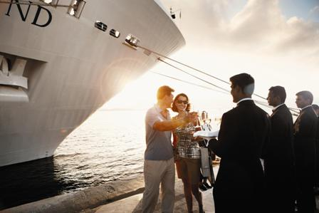 Silversea champagne welcome1