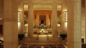Four Seasons New York Lobby