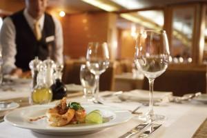 Silversea.com Galapagos restaurant