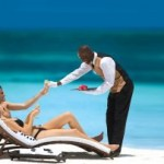 Sandals Resorts butlers are trained by the English Guild of Professional Butlers