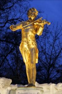 Johann Strauss statue, Vienna