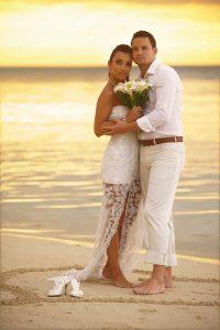Just perfect.. a Beachcomber wedding