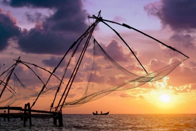 Chinese Fishing Nets, Cochin (TransIndus)