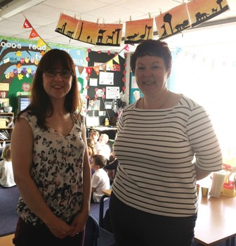 L: Jenny Foulds, Passport Language Solutions R: Lynne Swinnerton, Lomani MD