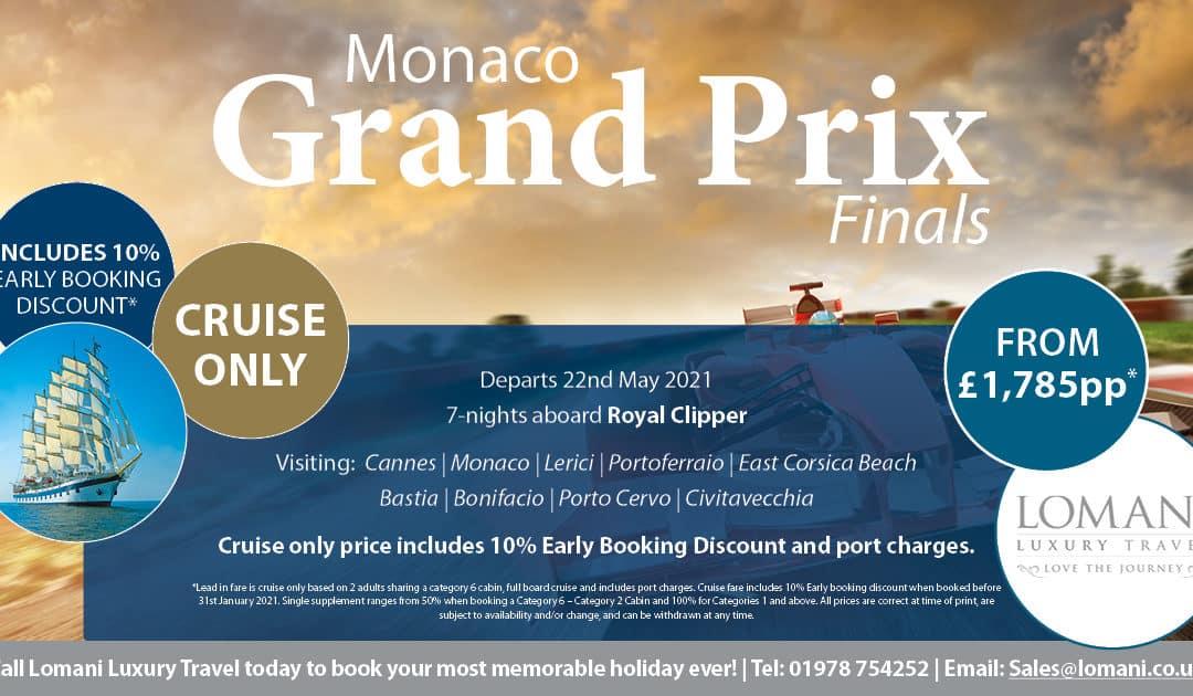 Monaco Grand Prix Finals!