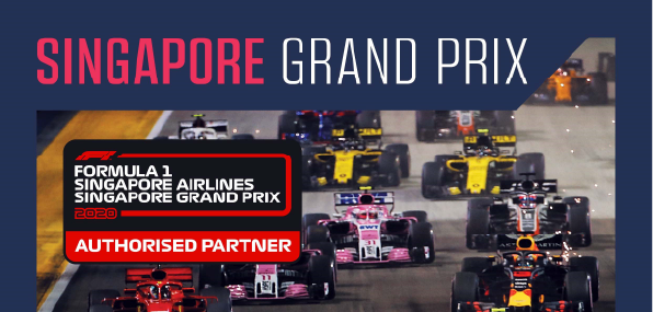 Luxurious Experience – Singapore Grand Prix 2020